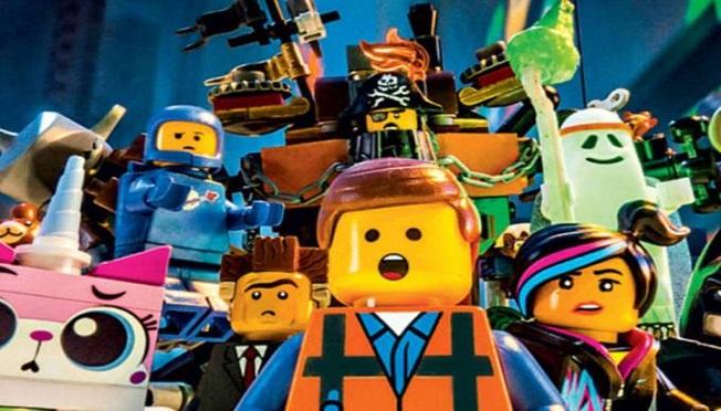 A VIDA É UMA CAIXA DE LEGO