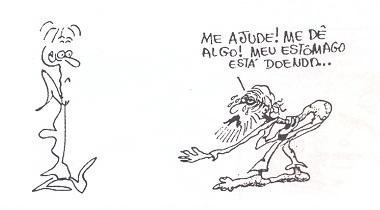 MEU ESTÔMAGO ESTÁ DOENDO!